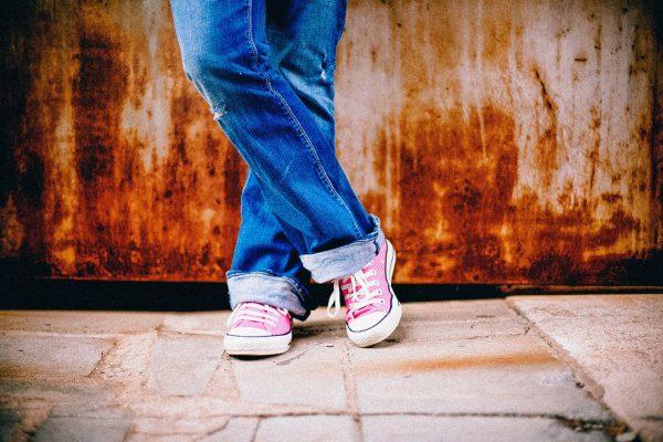 Het inlopen van je nieuwe schoenen